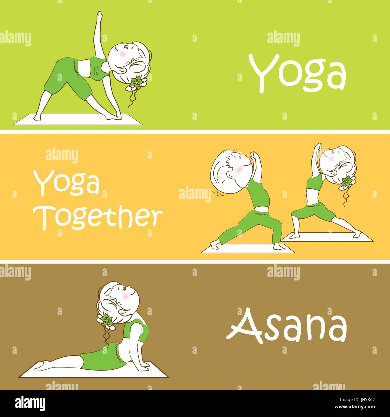 Yoga Vector Banner Professional Templates Or Design For Studio Website Magazine Publishing Print Presentation