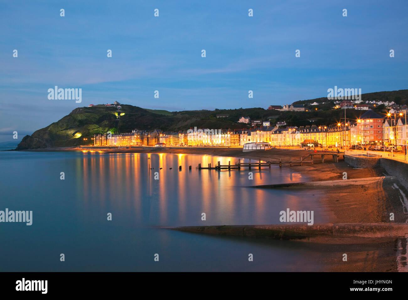 Aberystwyth, Ceredigion, West Wales, United Kingdom, Europe Stock Photo
