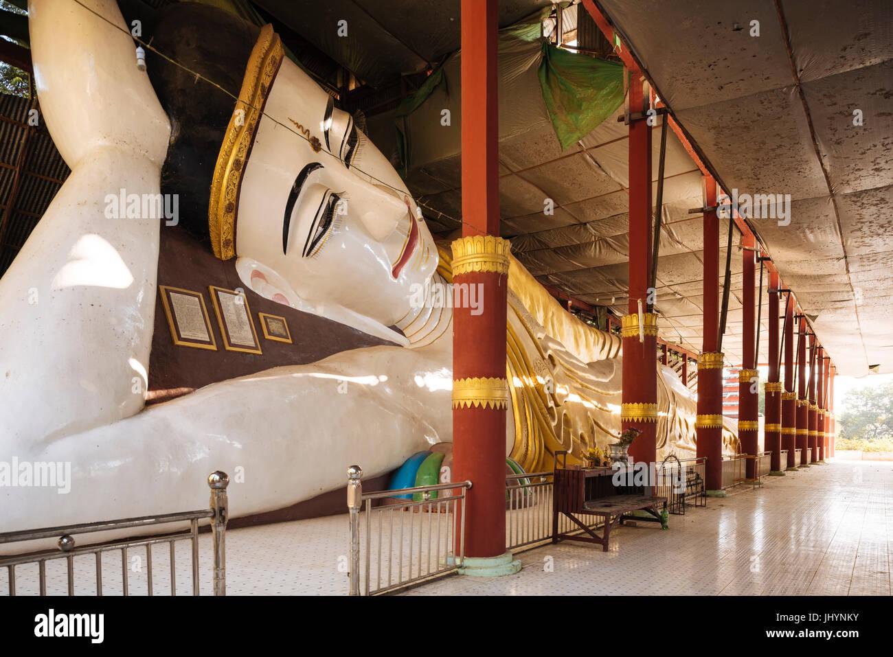 Buddhist Temple, Amarapura, Mandalay, Mandalay Region, Myanmar (Burma), Asia Stock Photo
