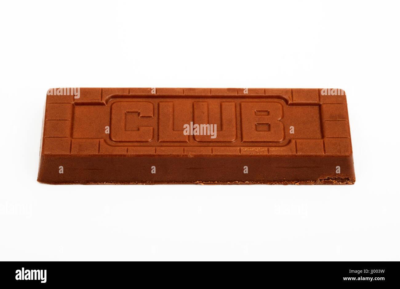 Club Orange Chocolate Biscuit Stock Photo 148746861 Alamy