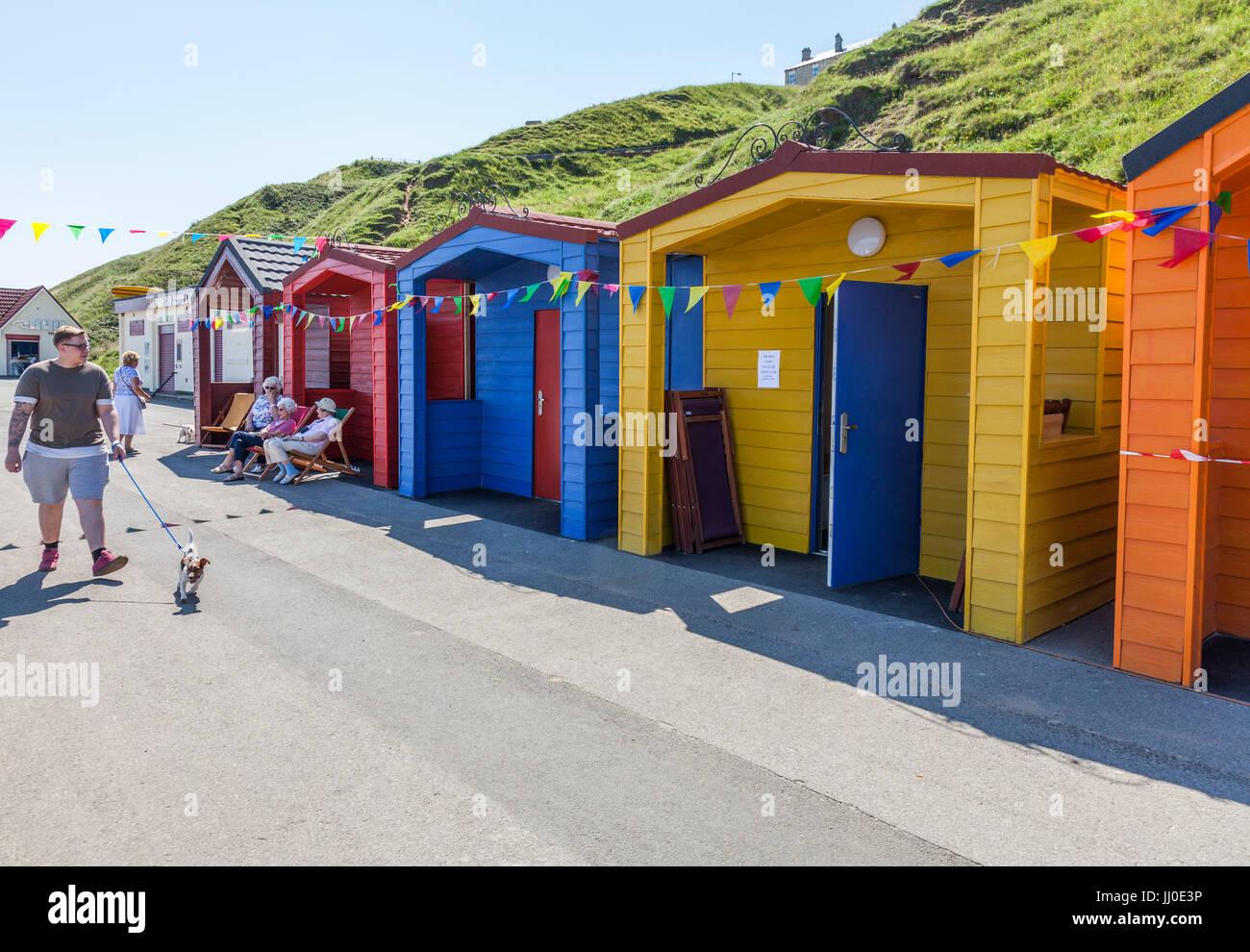 Saltburn By The Sea Beach Huts
