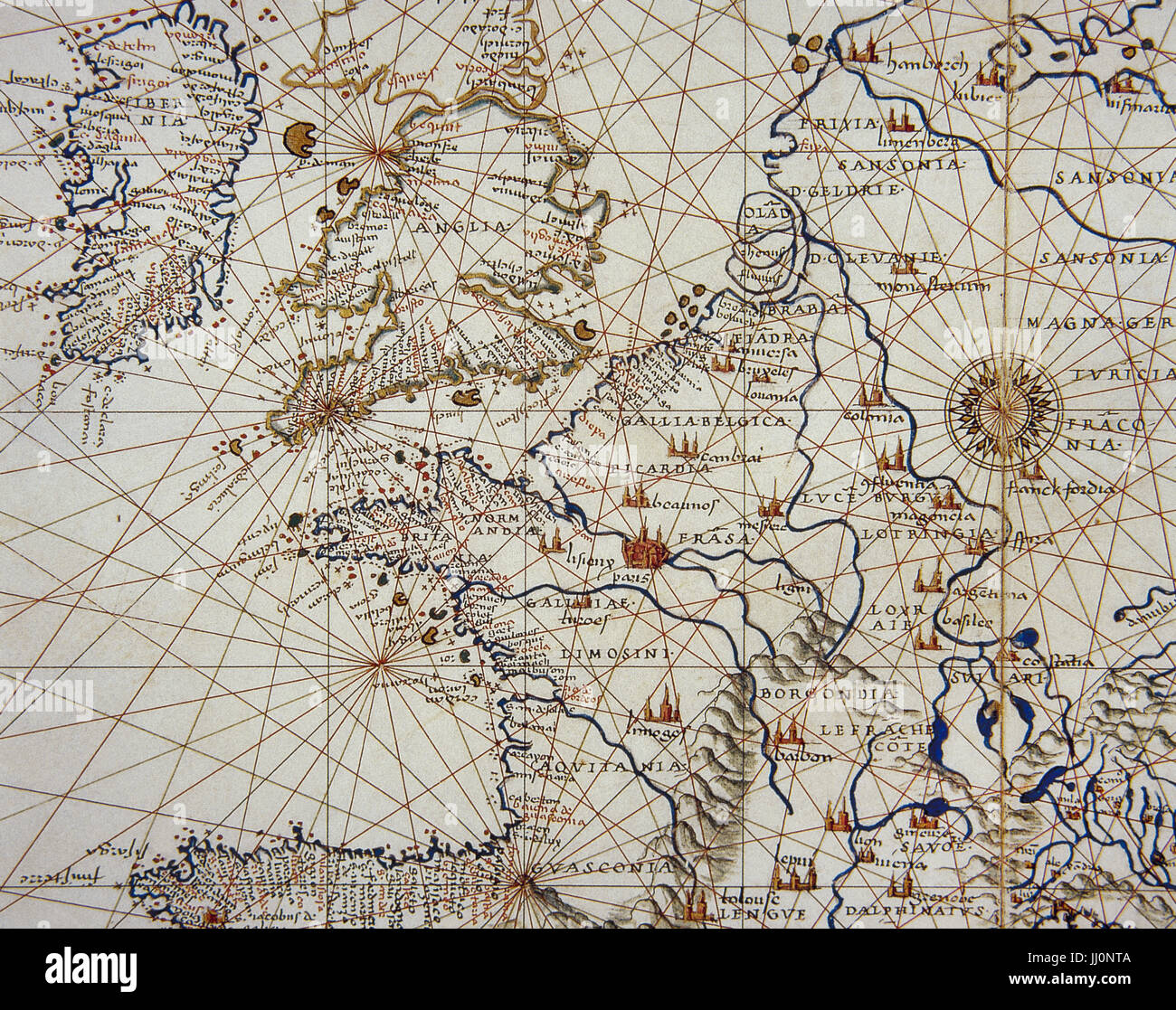 15th Century Map Of Europe.Map Europe 15th Century Stock Photos Map Europe 15th Century Stock