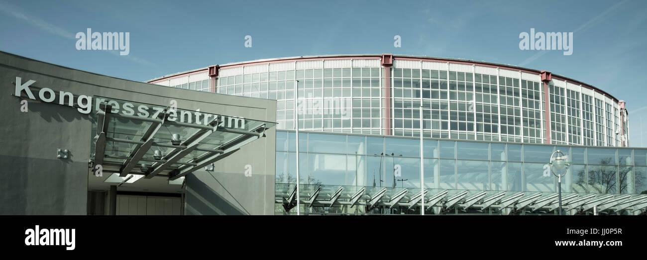 Westfalenhalle, Dortmund, Ruhr area, North Rhine-Westphalia, Germany, Europe - Stock Image