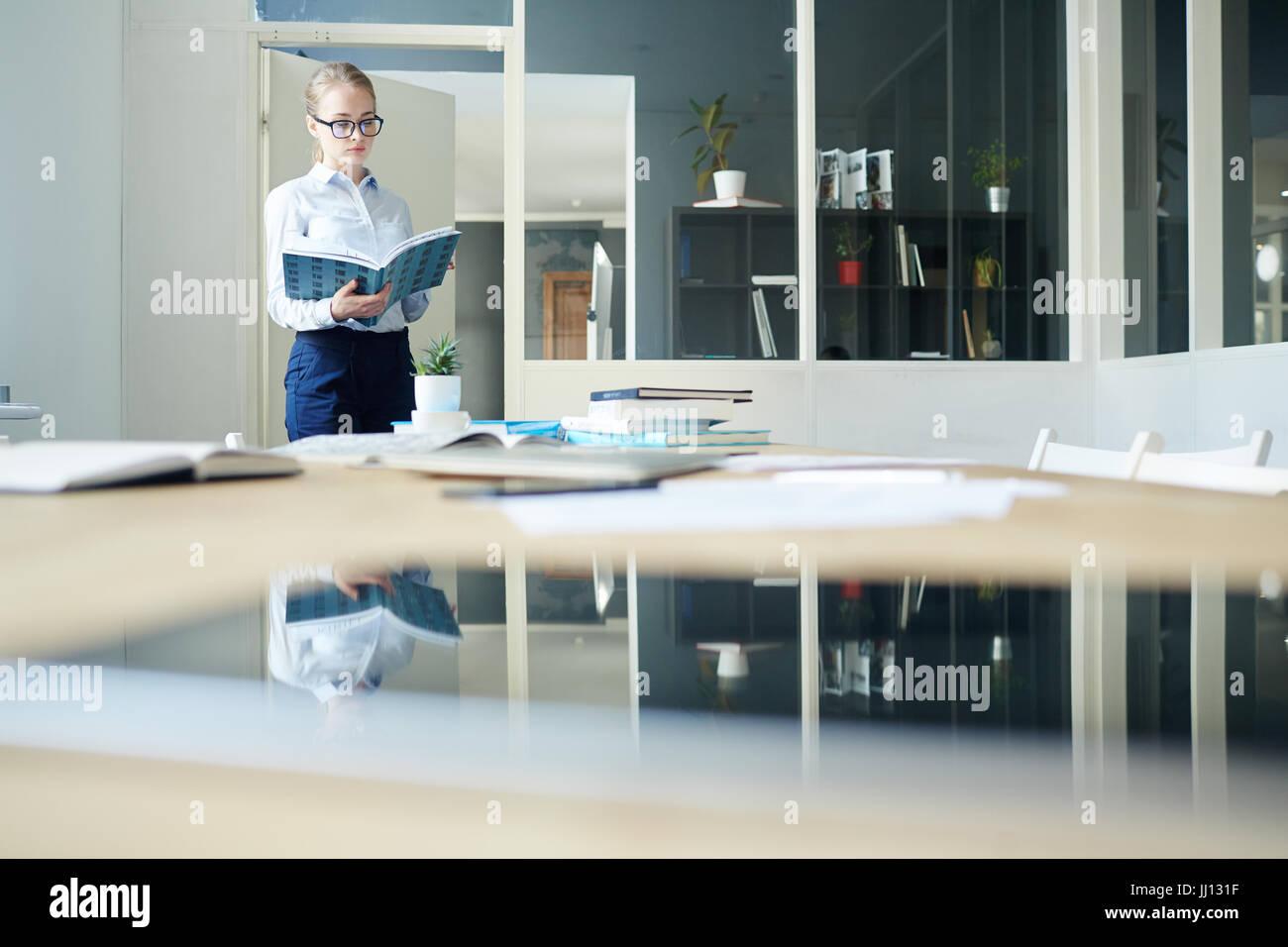 Working accountant - Stock Image