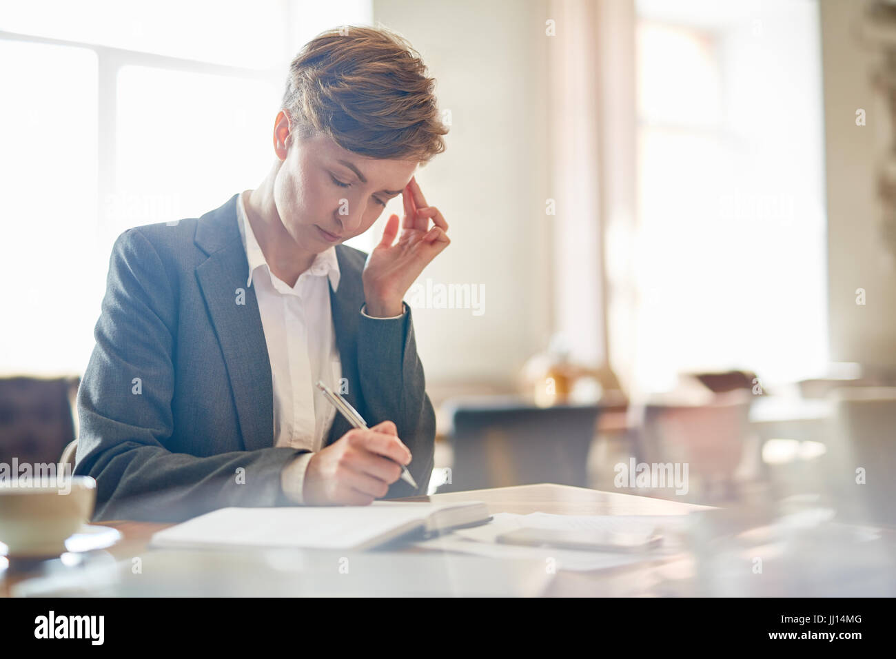 Concentration - Stock Image