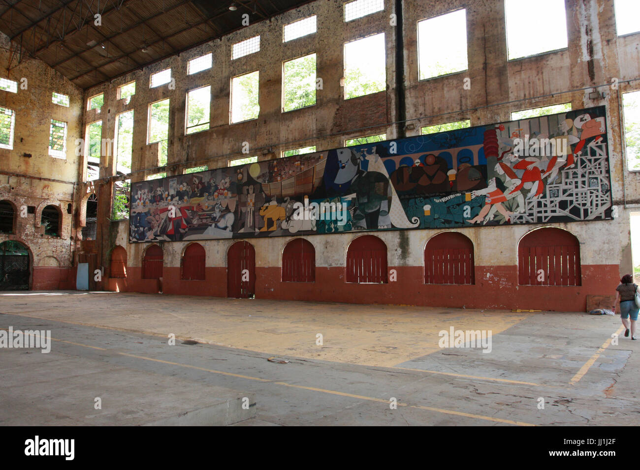 abandoned factory, interior, Piracicaba, São Paulo, Brazil Stock Photo