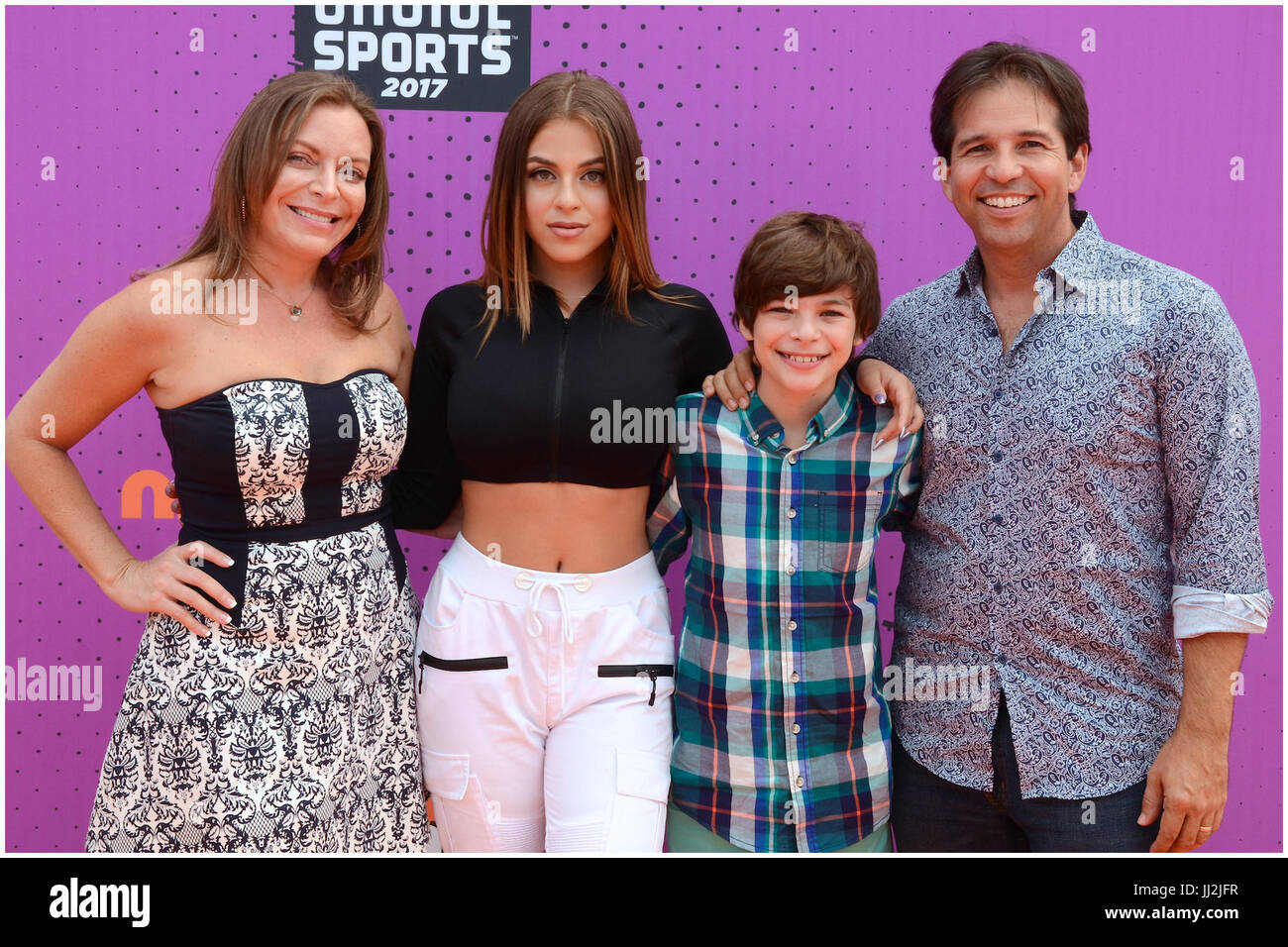 Guest attend 2017 Nickelodeon Kids' Choice Sports Awards