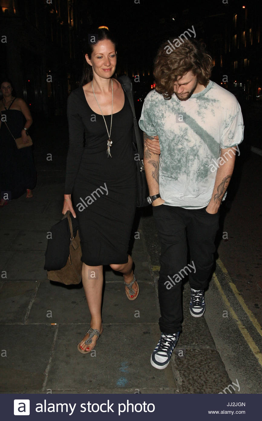 Charming Jay McGuiness And Tom Parker Leaving The Living Room On Heddon Street In  London.