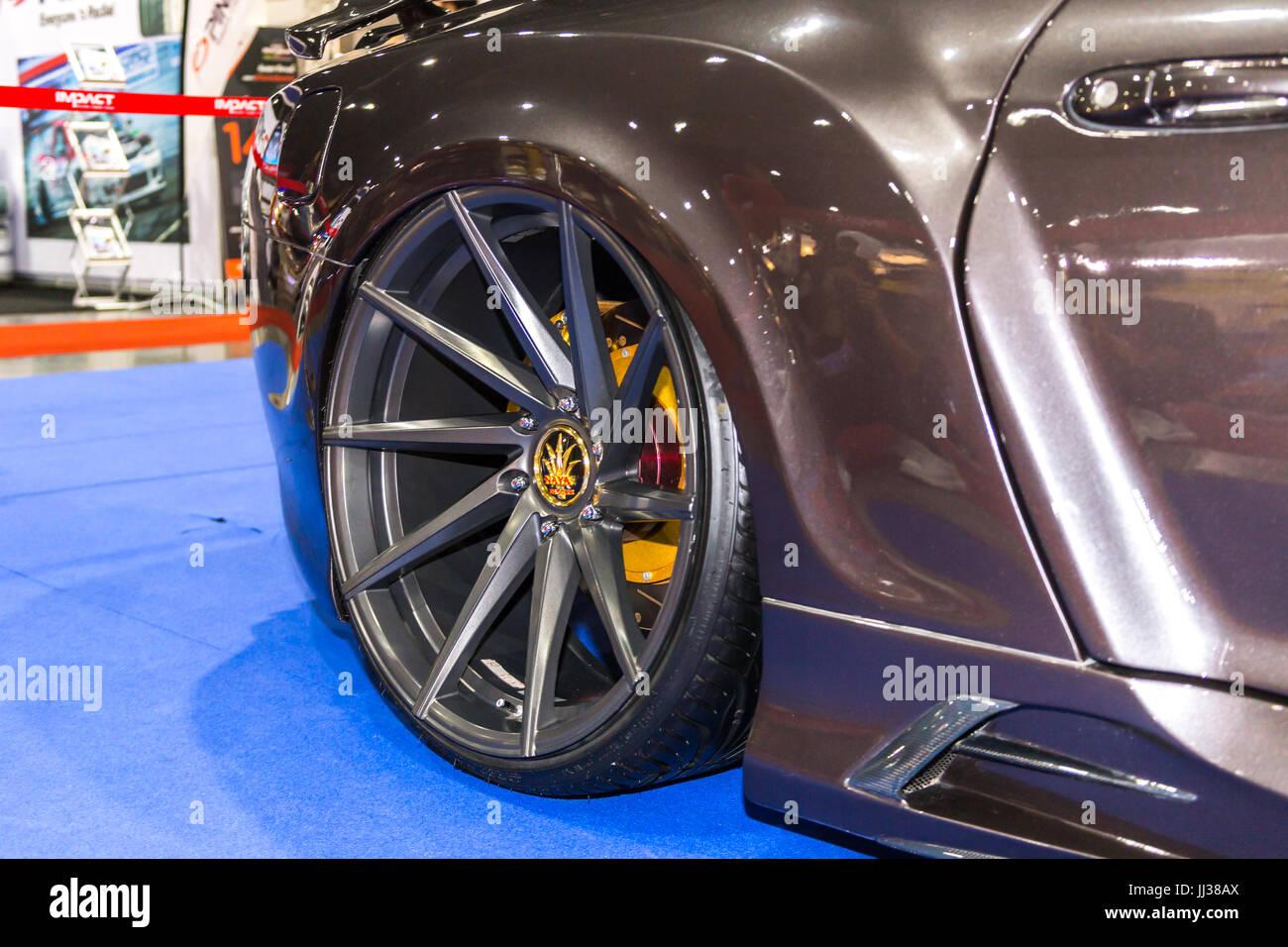 BANGKOK - JULY 5 : Modified car show show at Bangkok International ...