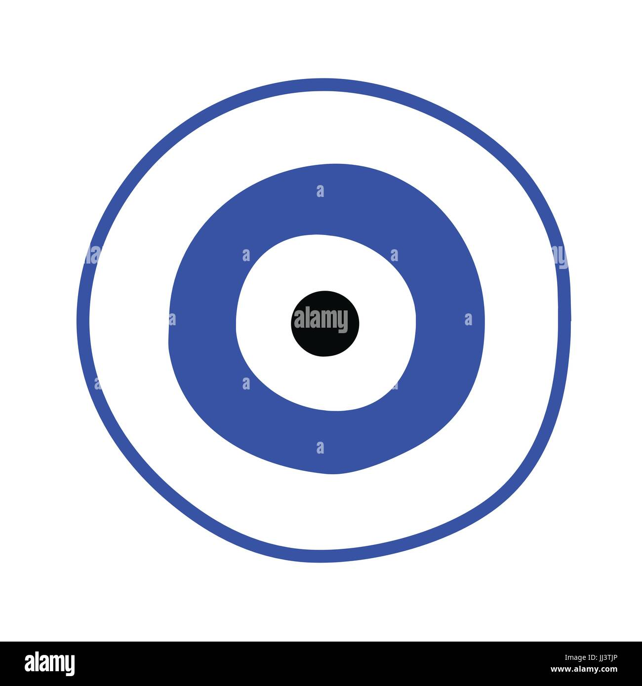 blue greek evil eye vector - symbol of protection Stock Vector Art ... 09738e11b