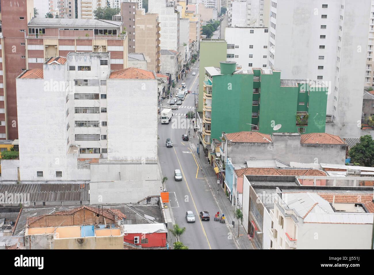 City, São Paulo, Brazil Stock Photo