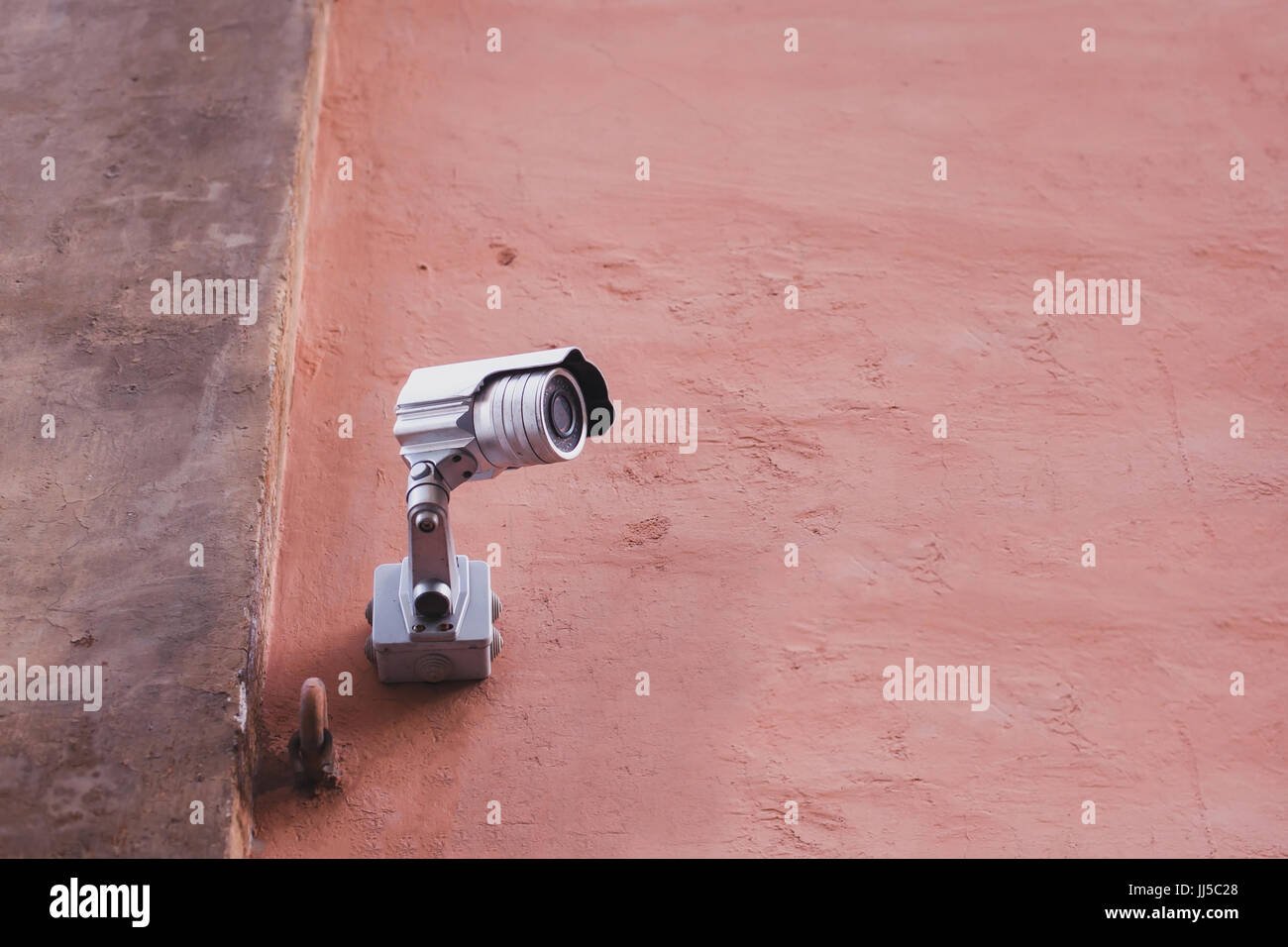 outdoor security camera for surveillance - Stock Image