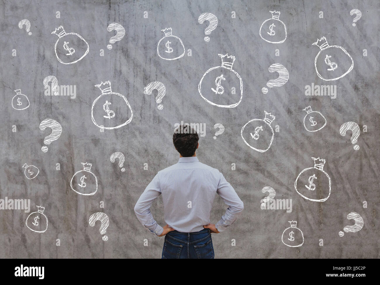 money for startup, business concept - Stock Image