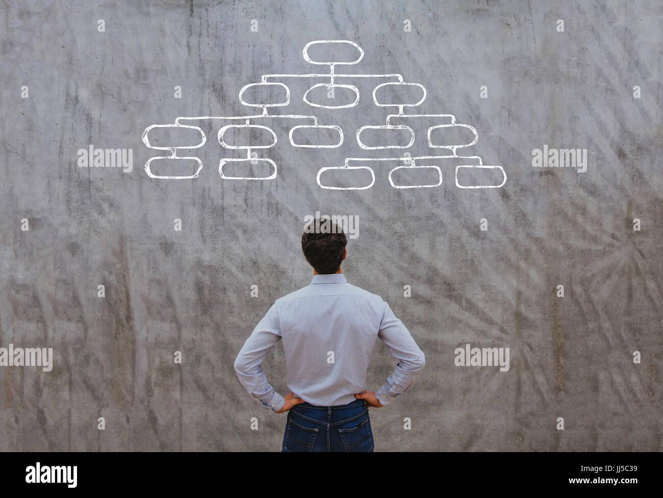 organization concept - Stock Image