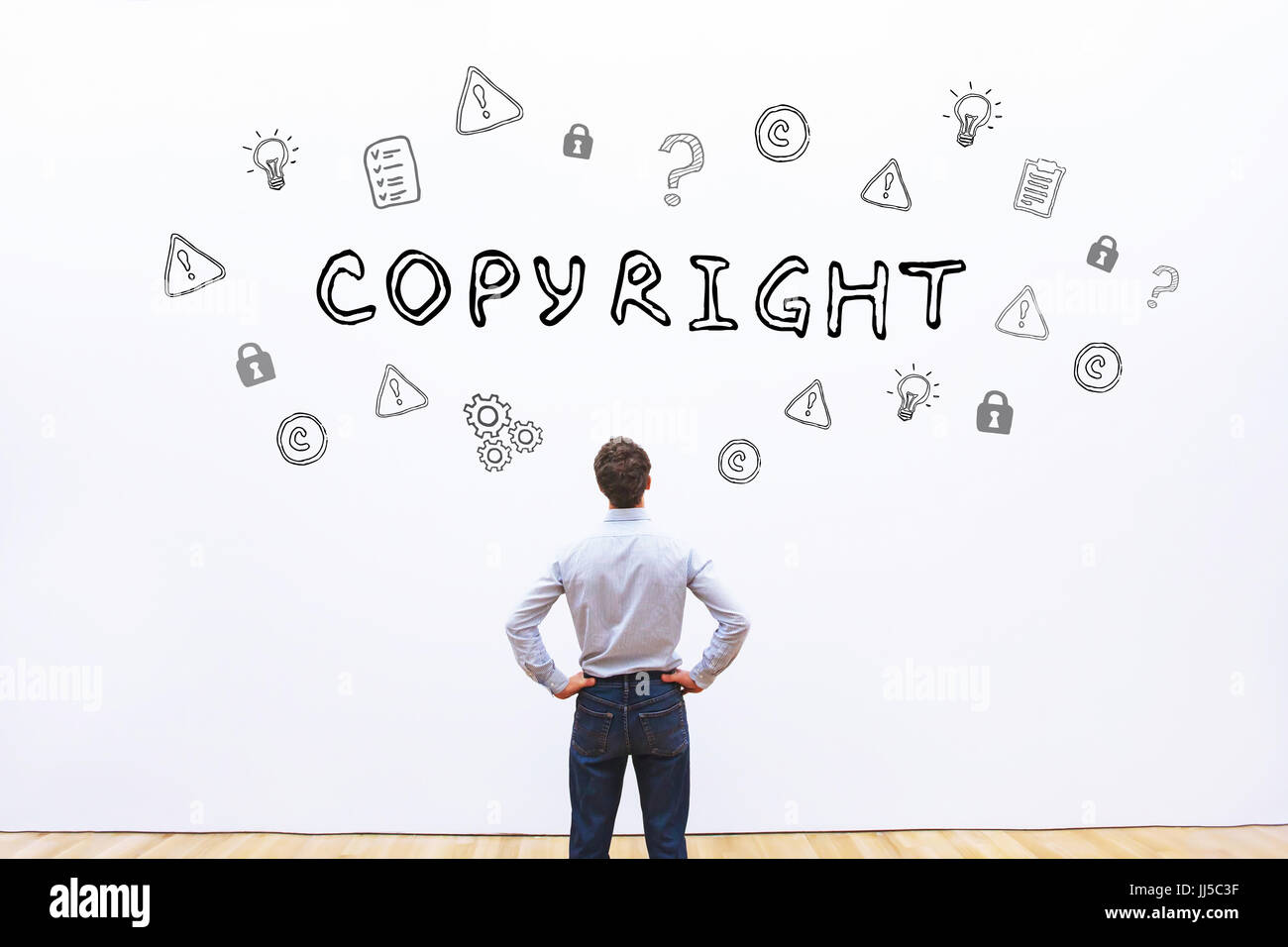 copyright concept - Stock Image