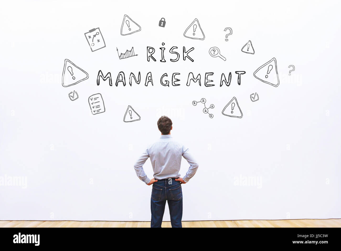 risk management concept - Stock Image