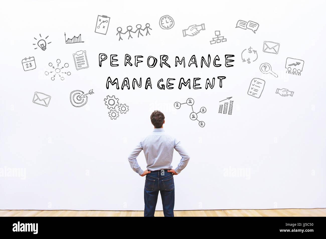 performance management concept - Stock Image