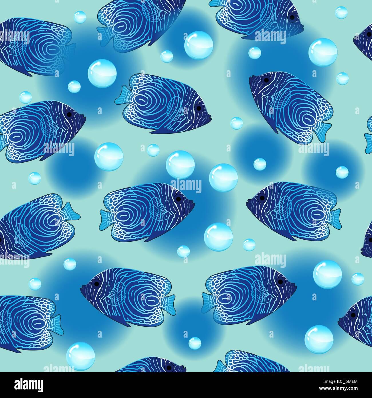 Seamless underwater texture Pool Plan Aquarium With Fish Seamless Pattern Underwater Infinite Texture Marine Repeating Background Alamy Aquarium With Fish Seamless Pattern Underwater Infinite Texture