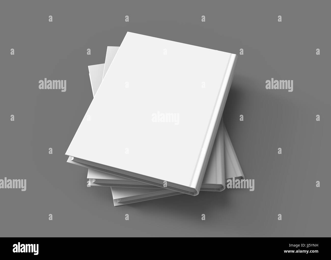hardcover books template pile of blank books mockup in spral shaped