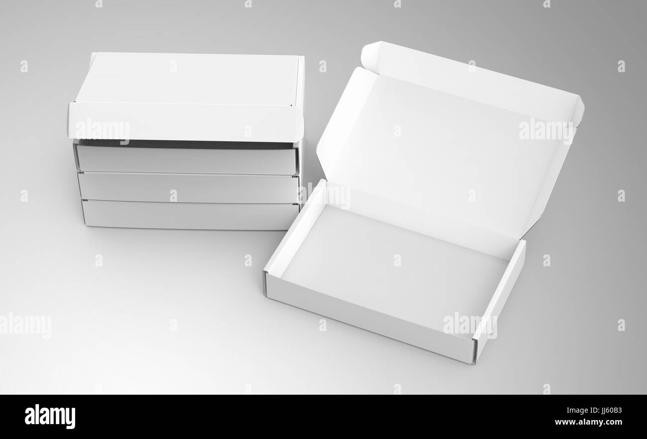 Blank Tuck Top Box Template Stack Of Paper Boxes Mockup