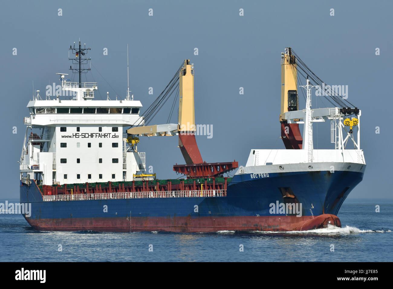 General Cargo Ship BBC Peru Stock Photo: 148911621 - Alamy