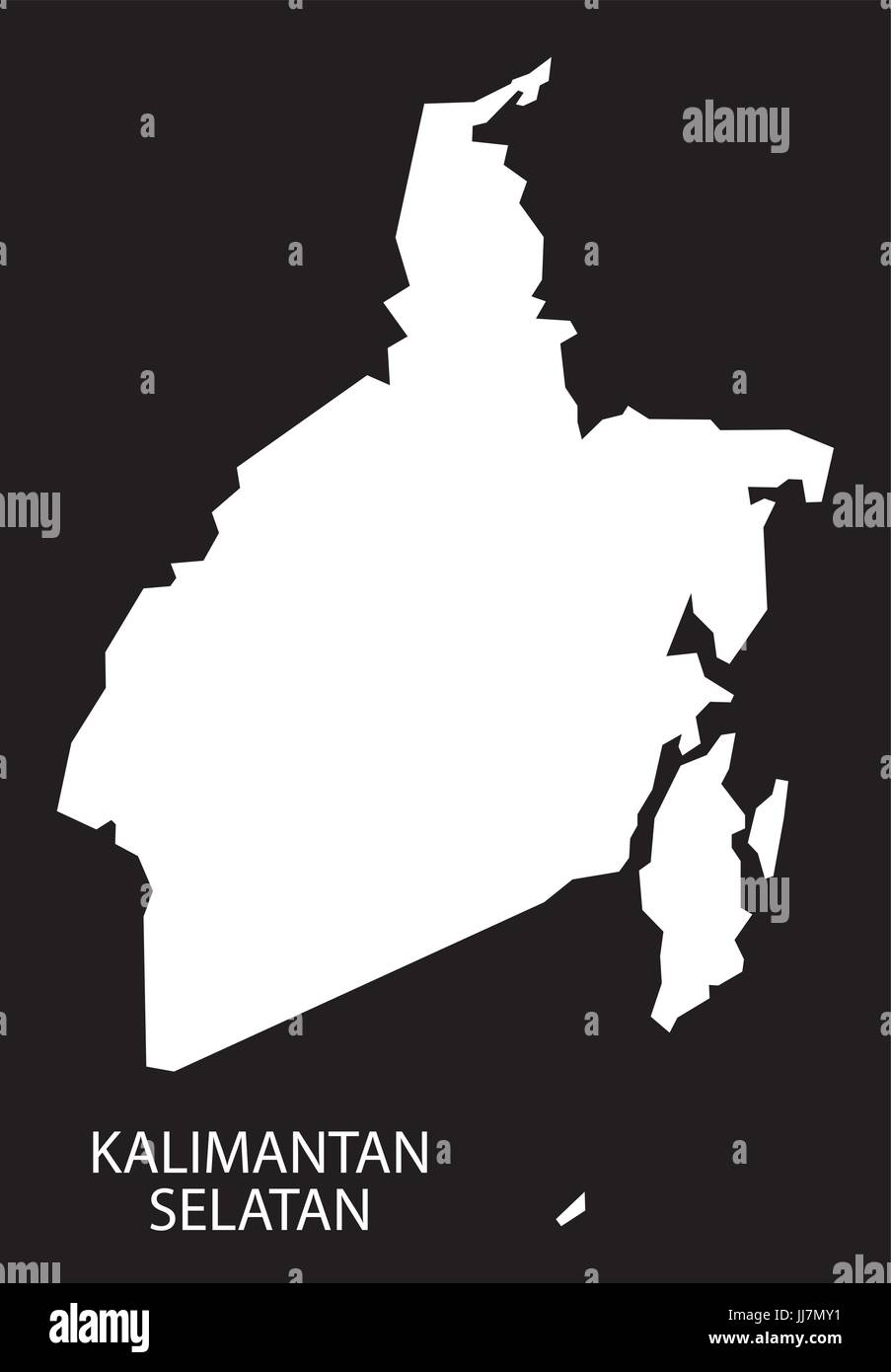 kalimantan vector vectors high resolution stock photography and images alamy https www alamy com stock photo kalimantan selatan indonesia map black inverted silhouette illustration 148916853 html