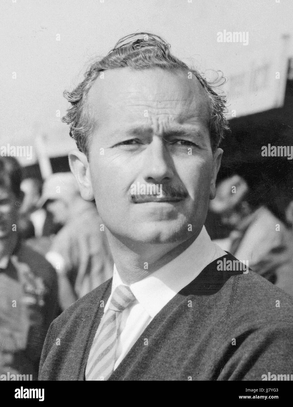 Colin Chapman founder of Lotus - Stock Image