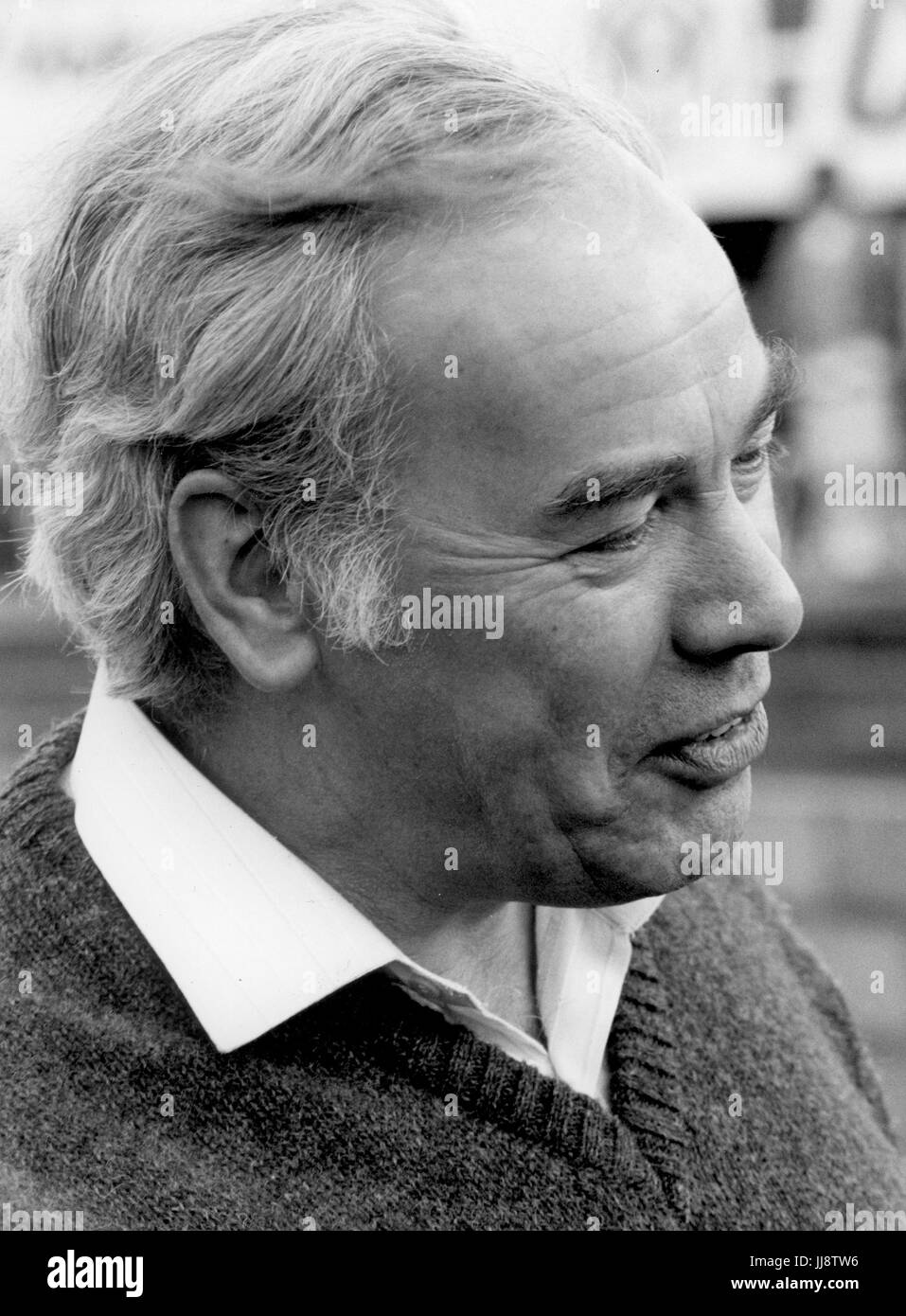 Keith Duckworth of Cosworth in 1988 - Stock Image