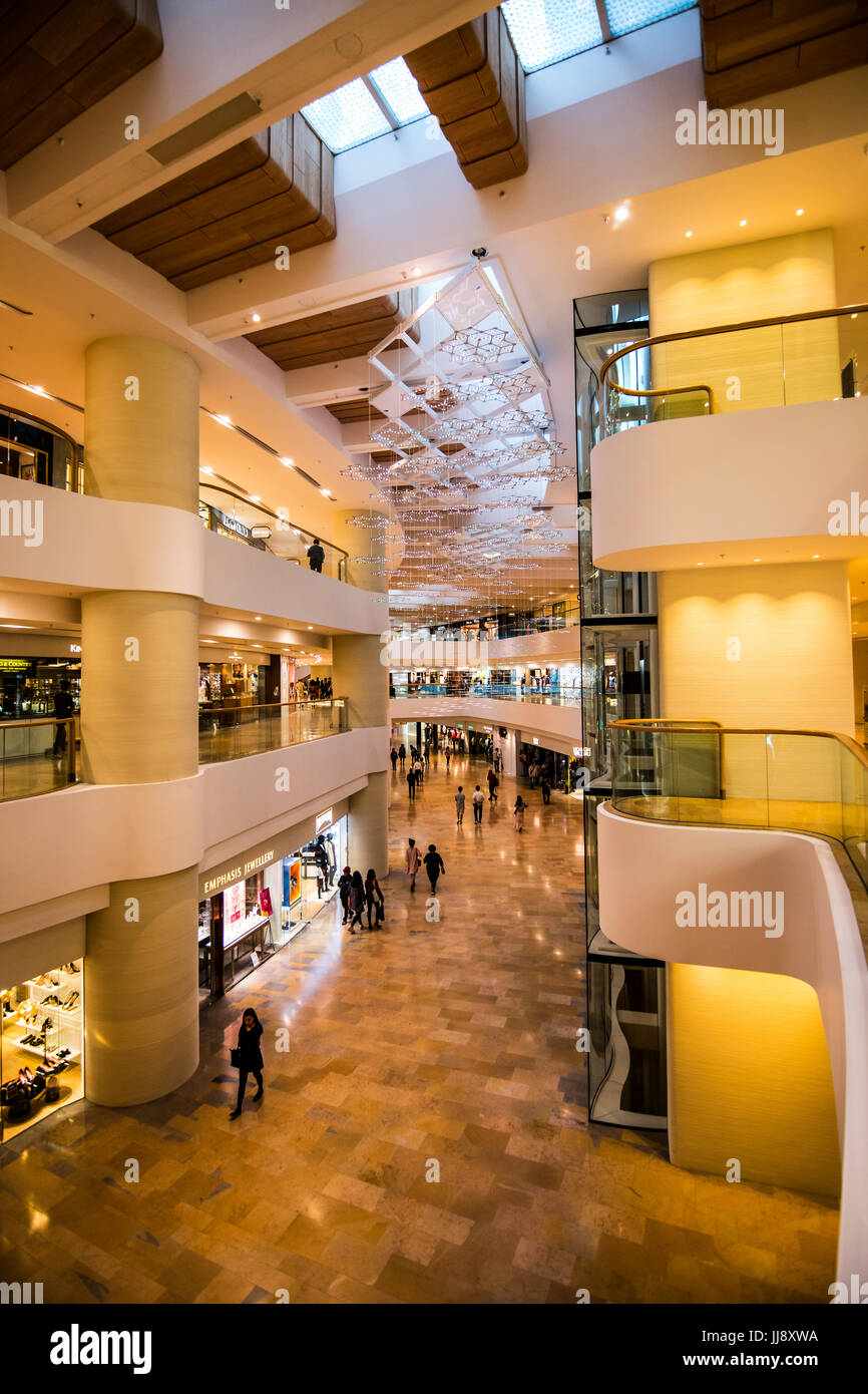 Pacific Place Mall, Hong Kong - Stock Image