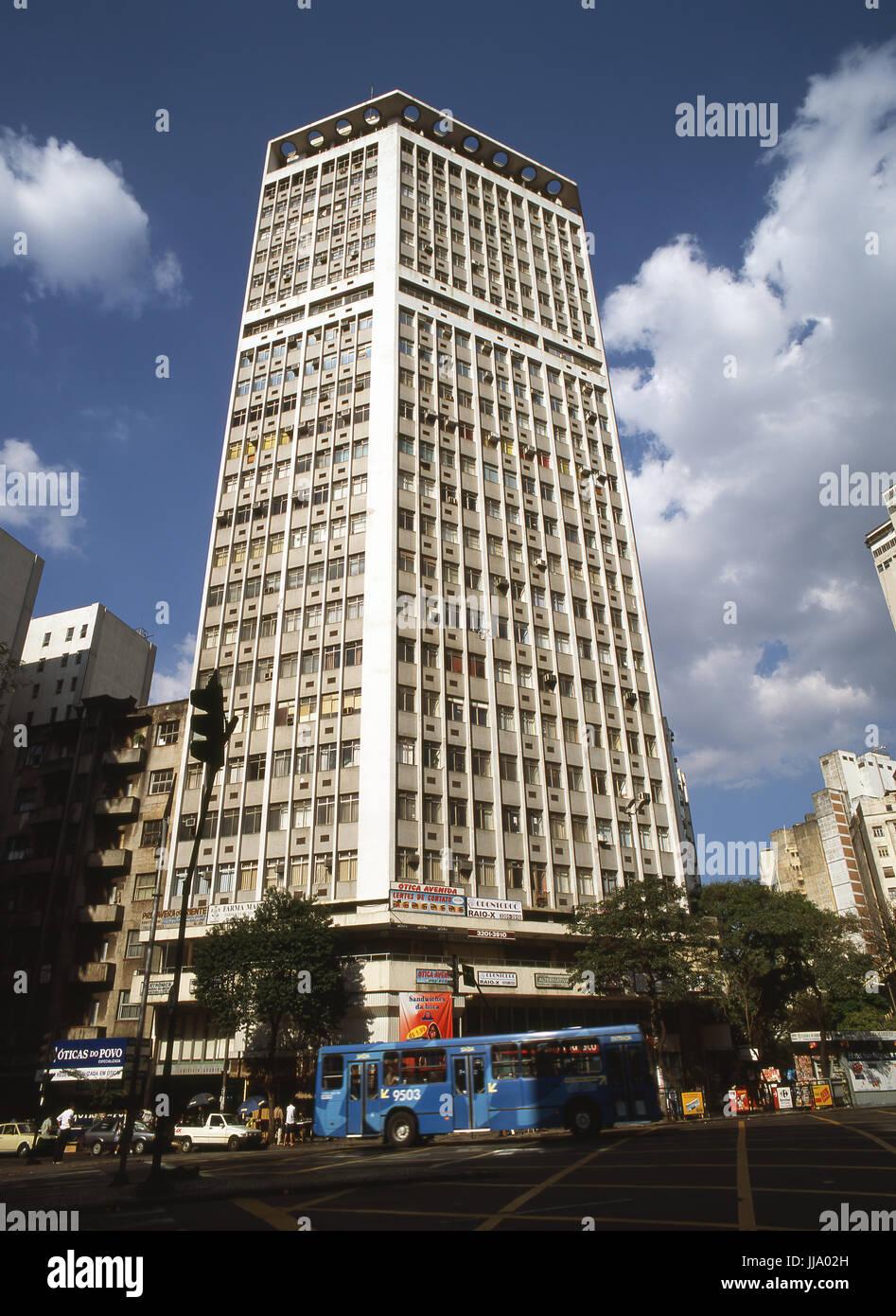 50bf9c1a6 Avenida Afonso Pena; Belo Horizonte; Minas Gerais; Brazil Stock ...