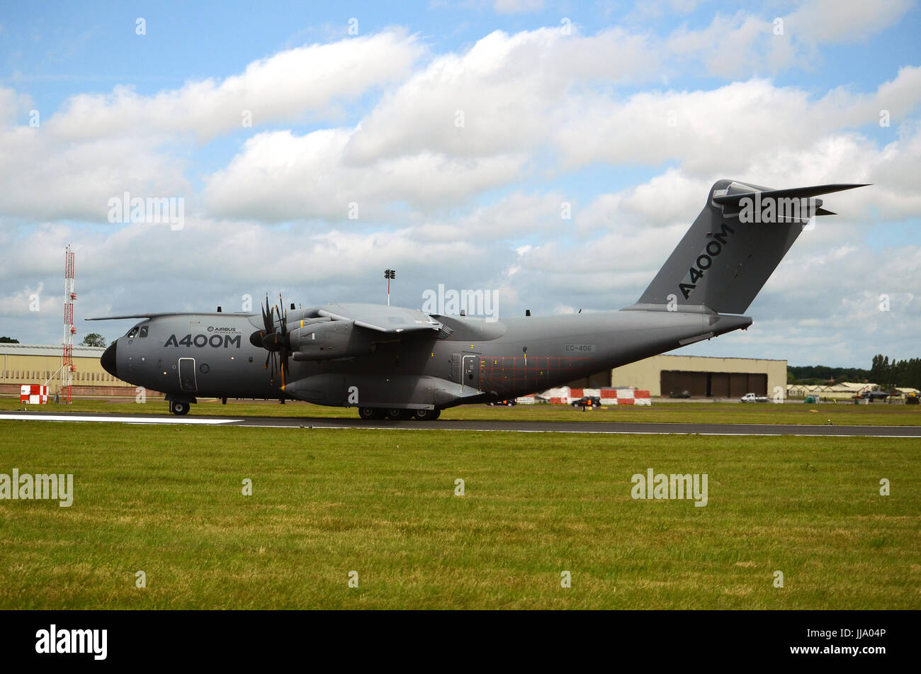 RAF military transport aircraft A400 Airbus - Stock Image