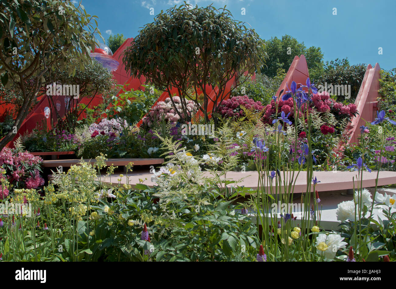 The Silk Road Garden at RHS Chelsea