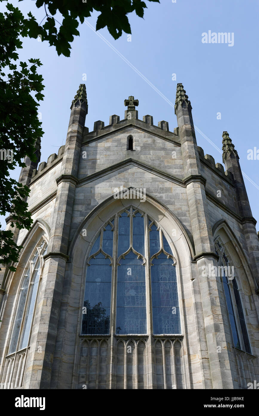 All saints church stand window - Stock Image