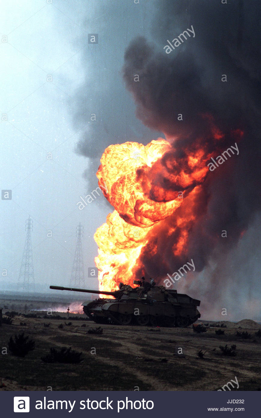 Embargoed to 0001 Thursday July 20 File photo dated 16/01/1991 of Operation Desert Storm launched with the allied - Stock Image