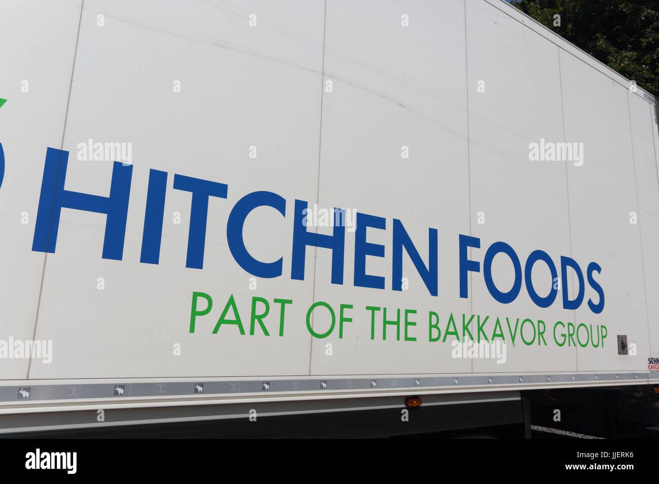 Hitchen Foods HGV - Stock Image