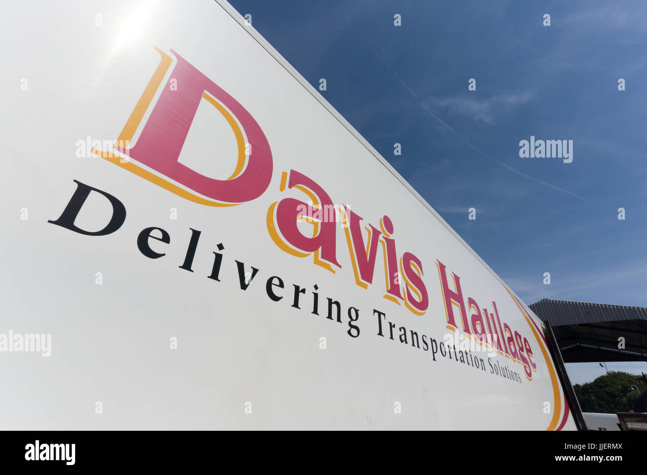 Davis Haulage HGV - Stock Image
