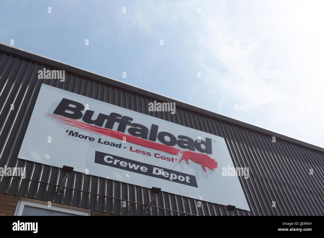 Buffaload, Crewe Depot - Stock Image