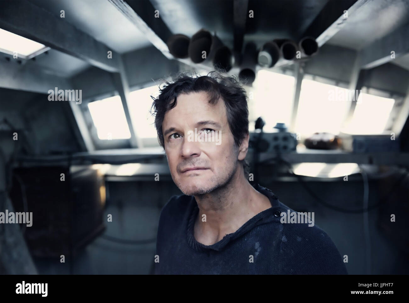 THE MERCY 2017 Blueprint Pictures/BBC film with Colin Firth - Stock Image