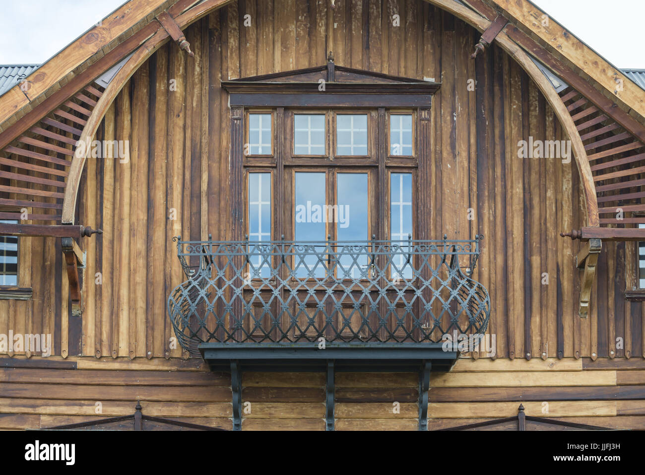 Casas y ventanas / houses and windows - Stock Image