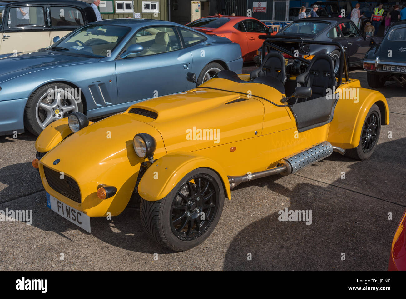 Westfield Sports Car Stock Photo Alamy