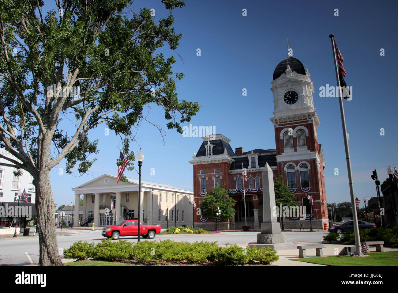 Covington Georgia - Stock Image