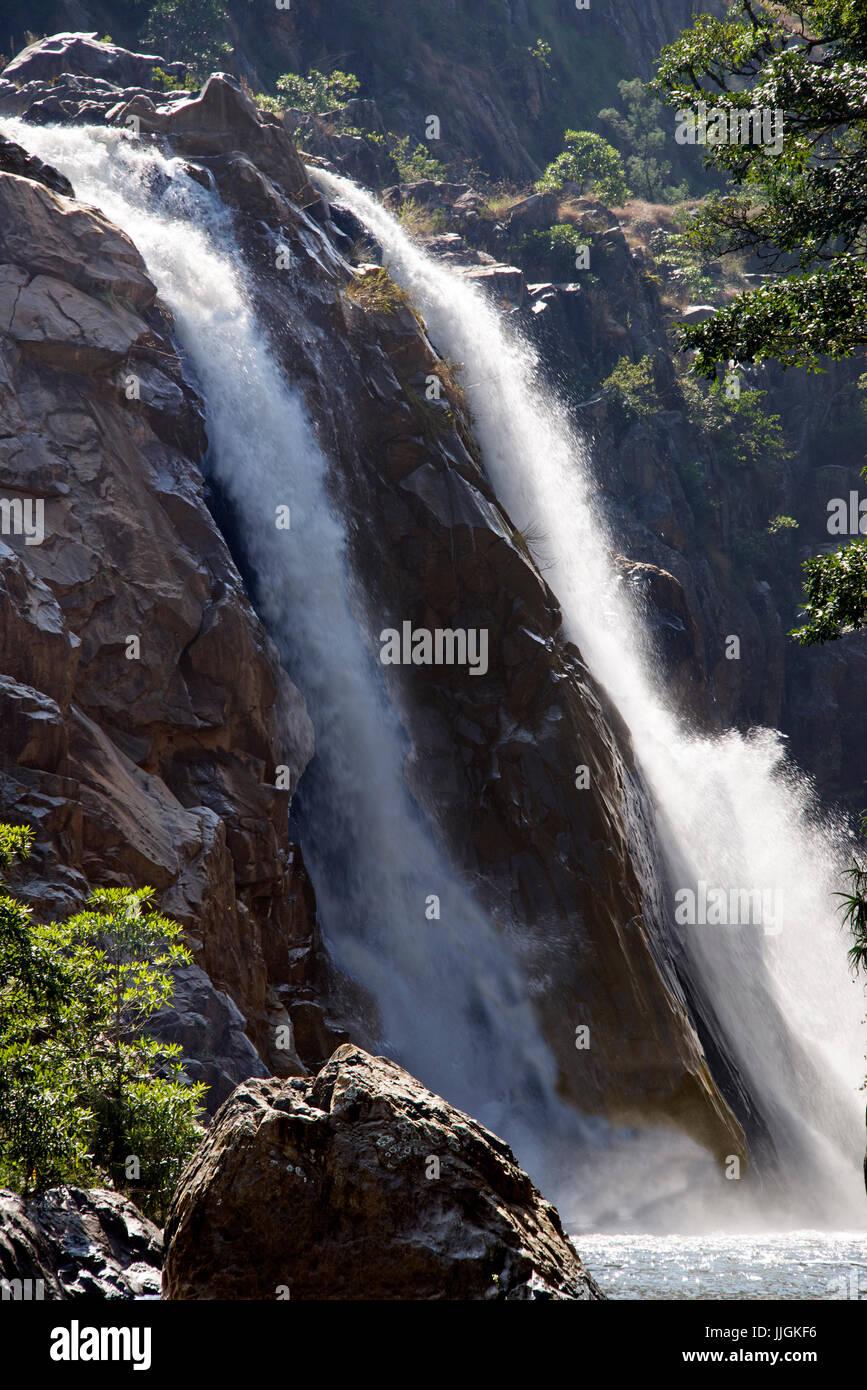 Mantenga Falls  Swaziland Southern Africa - Stock Image