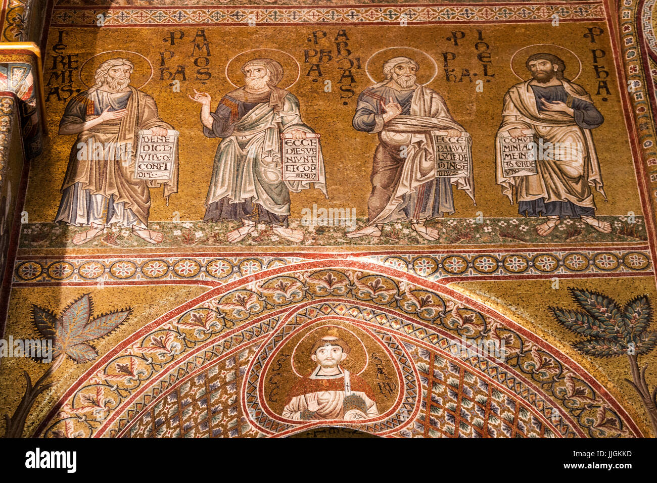 monreale mosaics stock photos monreale mosaics stock images alamy