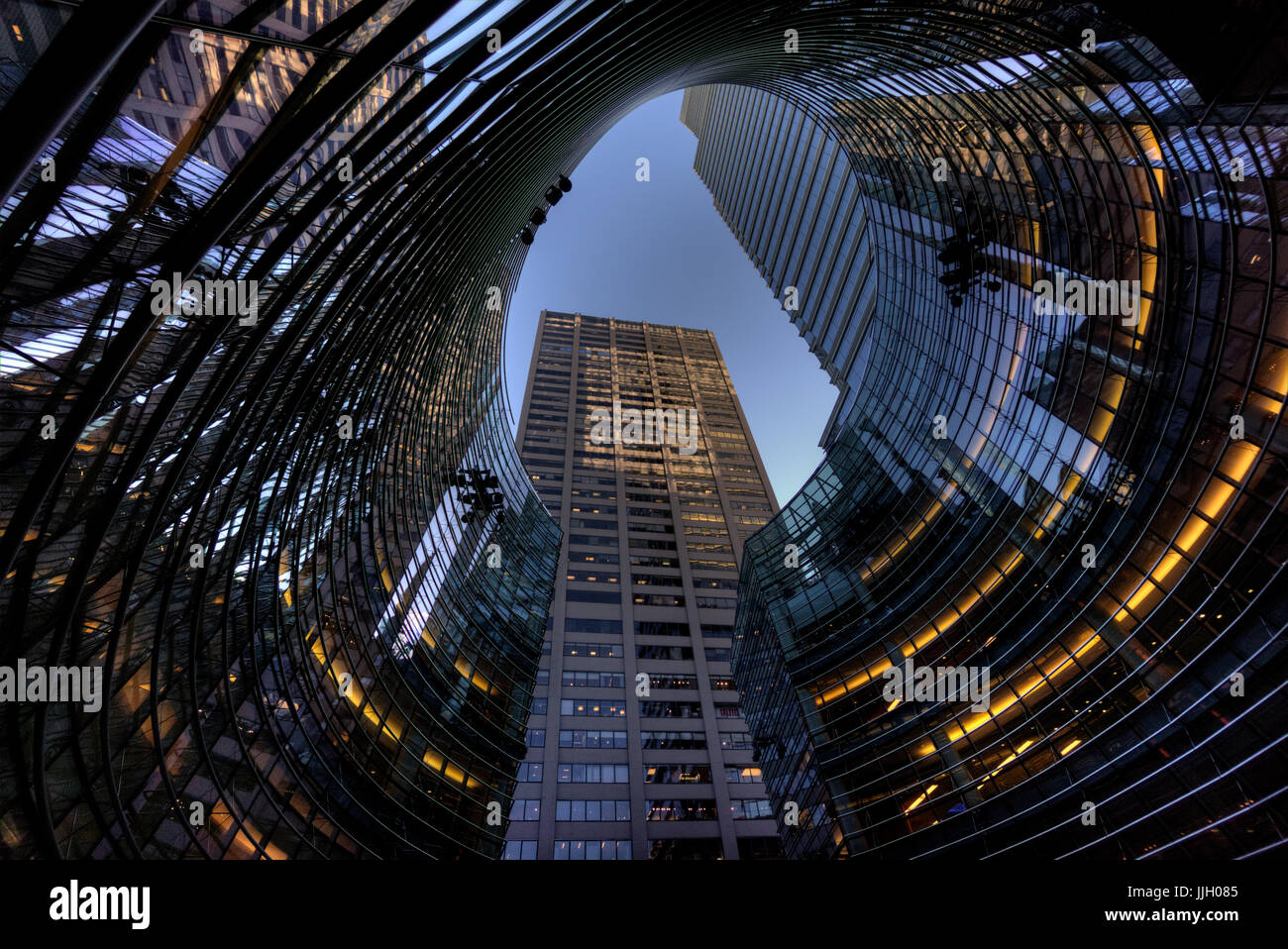 Bloomberg Tower, New York City - Stock Image