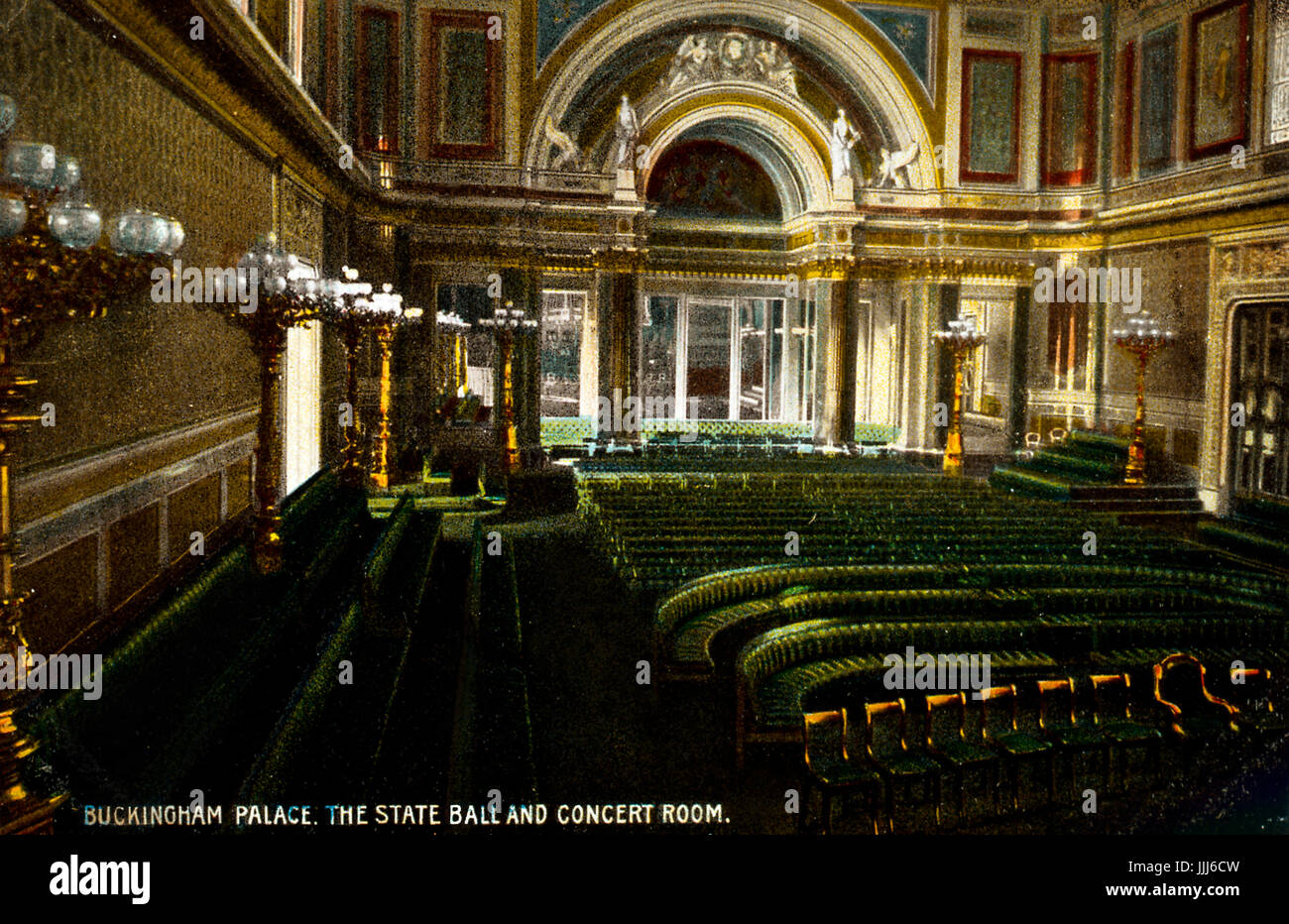 Charmant London   Buckingham Palace, Interior: State Ball And Concert Room.  Photograph By B