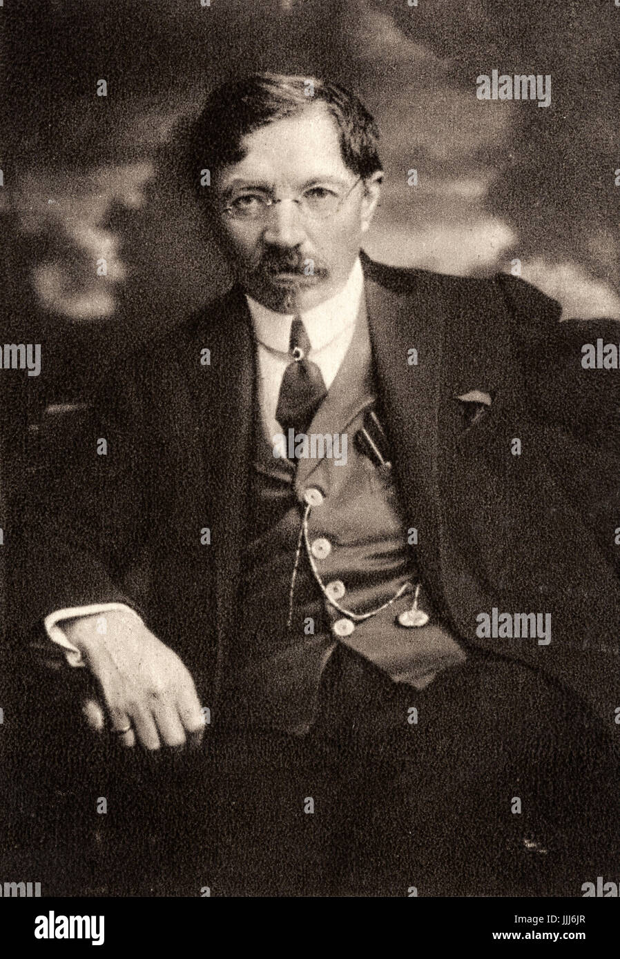 Shalom Aleichem - Yiddish writer born in Poltava, Ukraine.  Wrote humorous stories about Jewish life in Russia. - Stock Image