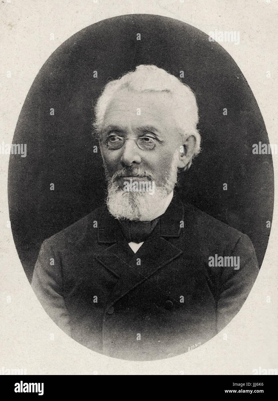 Mendele Mocher Seforim / Mendele Mokher S'forim - (Mendel the bookseller) original name Sholem Yankev Abramovitch, - Stock Image