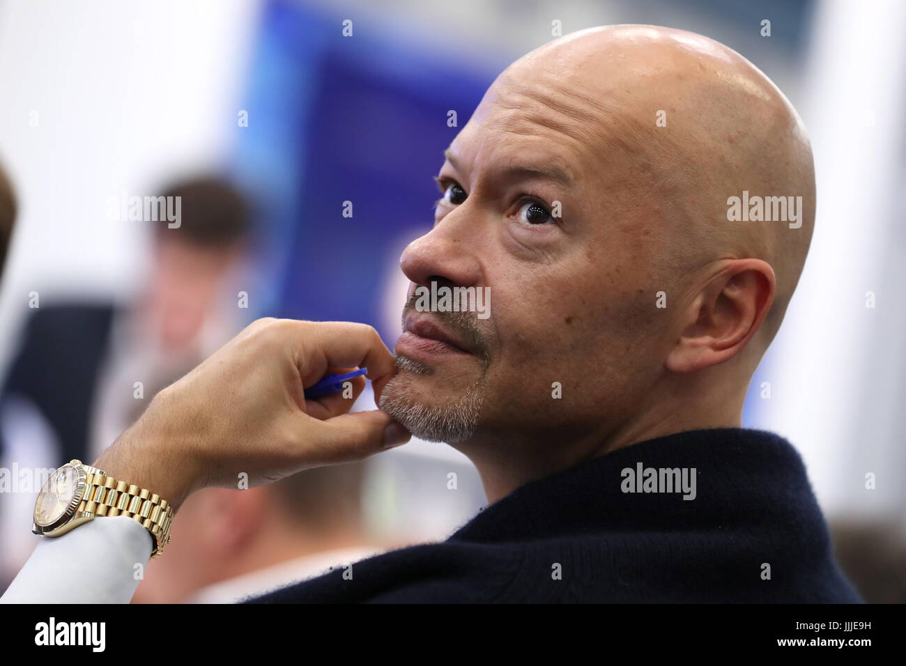 Moscow, Russia. 20th July, 2017. Russian film actor and director Fyodor Bondarchuk, chairman of the Board of Directors - Stock Image