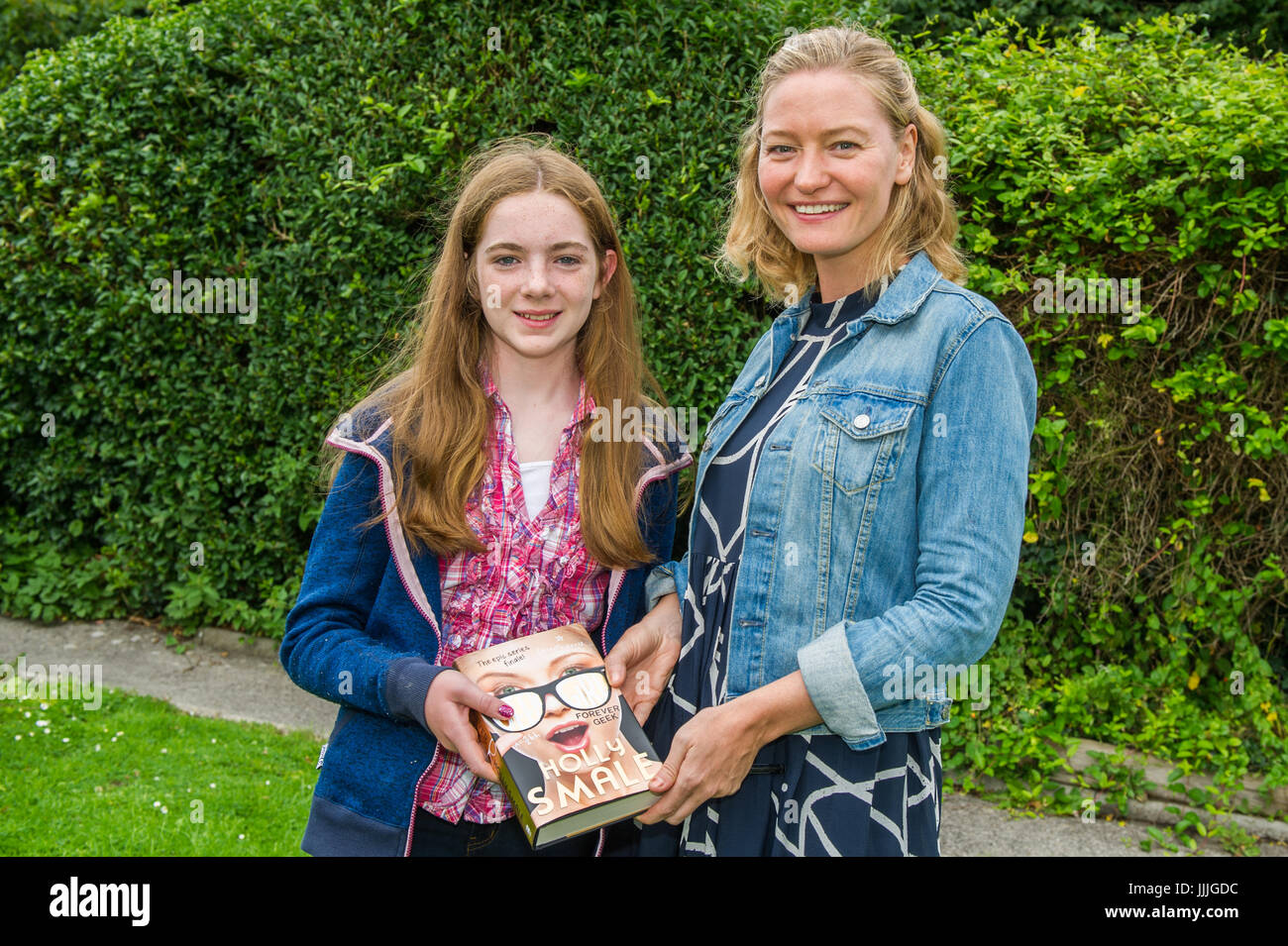 Bantry, West Cork, Ireland. 20th July, 2017.  Award-winning Geek Girl series children's book author, Holly Smale - Stock Image