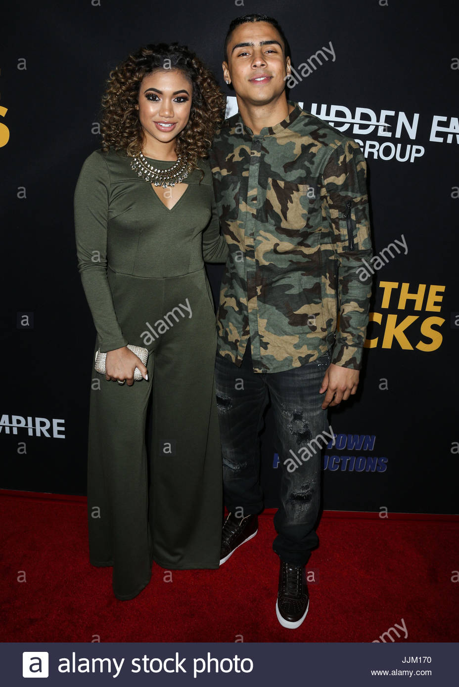 Paige hurd quincy brown celebrities at los angeles premiere of celebrities at los angeles premiere of freestyle releasings meet the blacks held at arclight cinemas hollywood in hollywood m4hsunfo